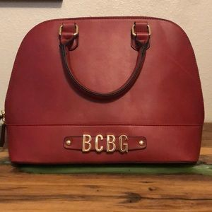 BCBG Red Tote Purse